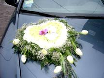Оформление свадебных машин