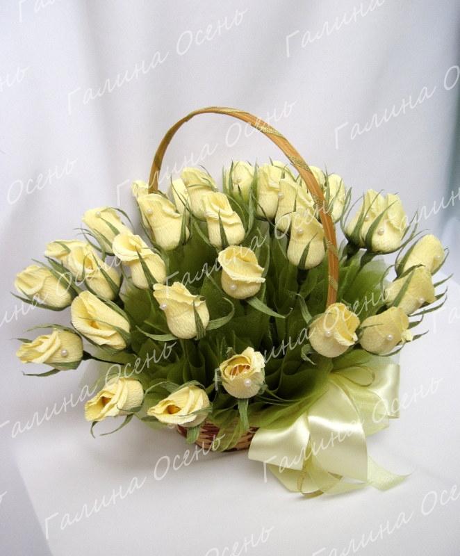 Оформление букета на свадьбу конфет купить голландские розы в алматы