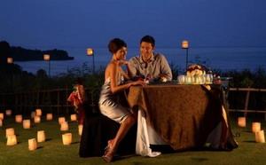 романтичеcкий ужин