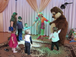 Частные детские праздники