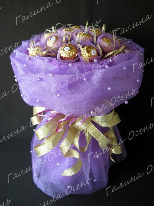 Как составлять букеты из конфет своими руками