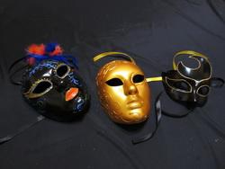 Роспись венецианских масок